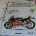 DeAGOSTINI CHAMPION RACING BIKES Issue 54 Magazine APRILIA RS125